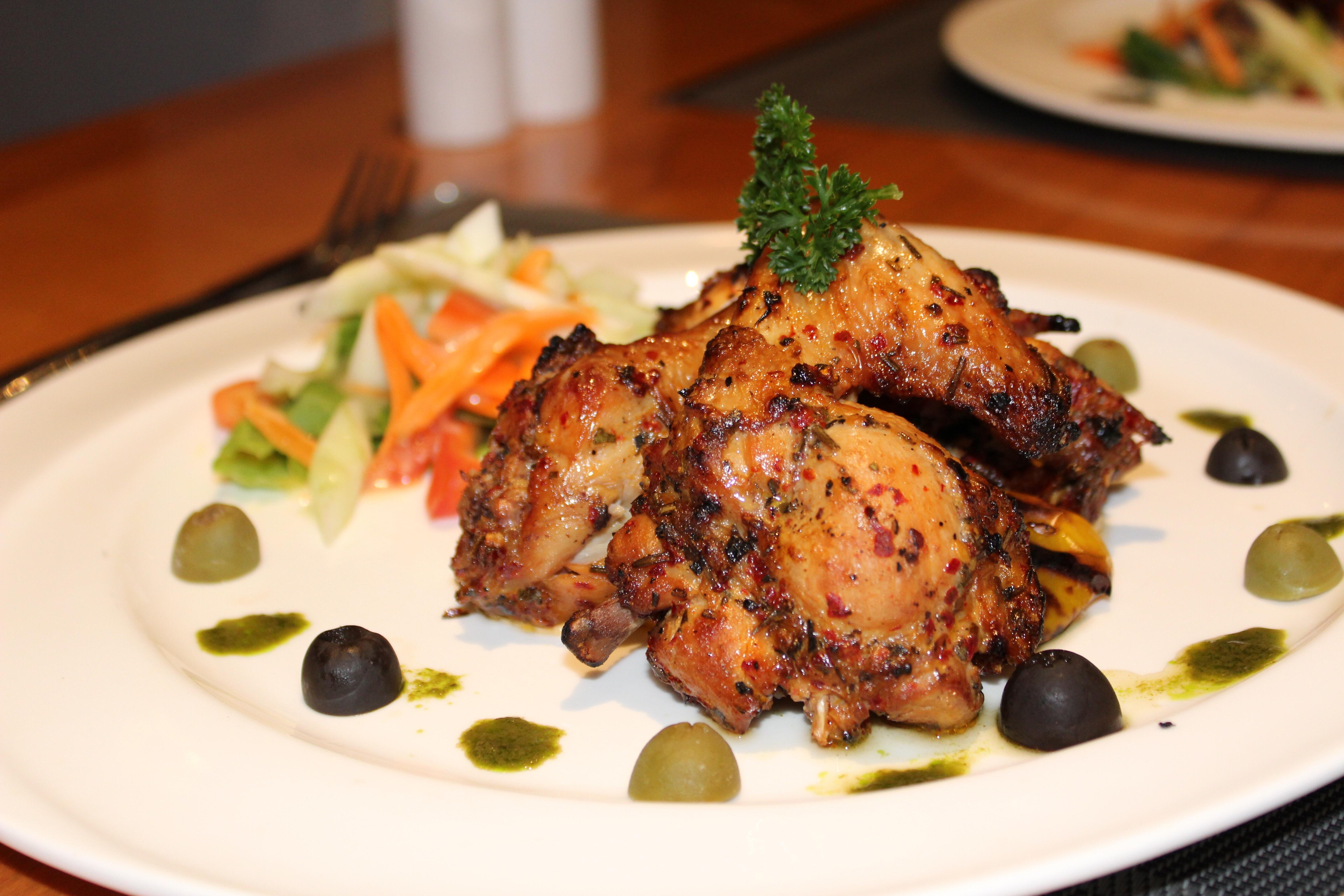 Flame Grilled Mediterranean Chicken